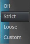Handbrake picture settings options.